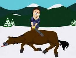 beat horse