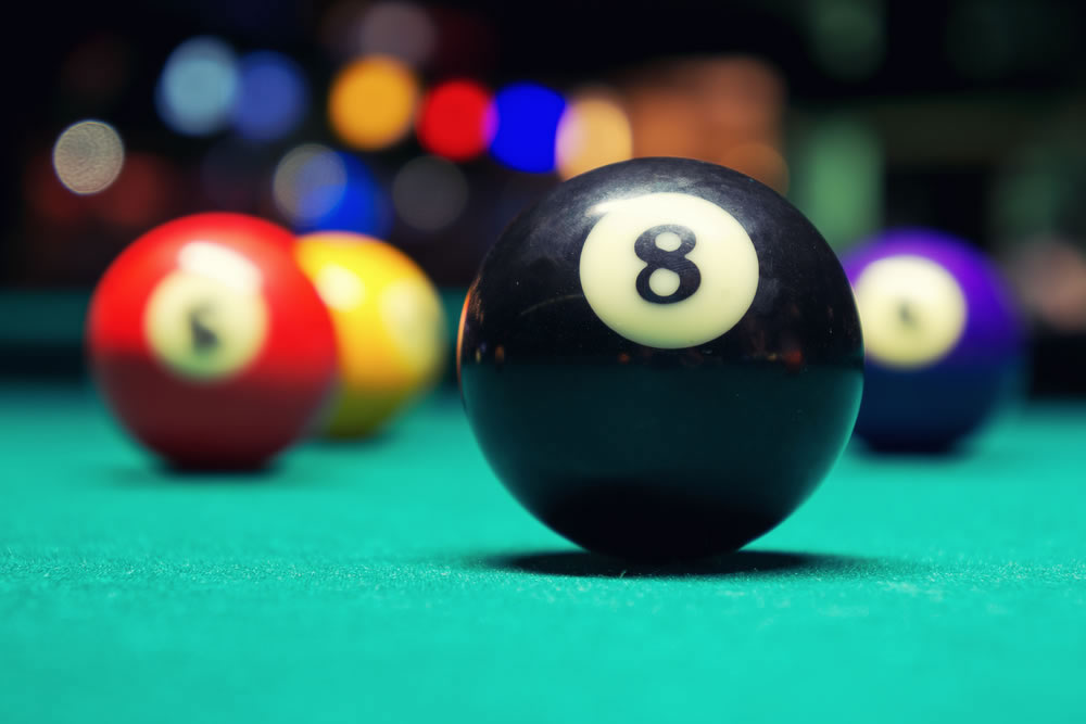 He s really ahead of the eight ball malaphors - 8 ball pictures ...